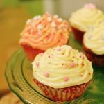 Cupcakes z Amaretto i frostingiem z mascarpone
