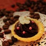 Tartaletki z kremem czekoladowo-orzechowym