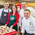 Warsztaty kulinarne Knorr – łosoś w szynce parmeńskiej na risotto
