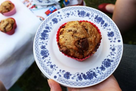 Muffinki ze snickersami