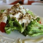 Sałatka z brokułami i fetą + kolonijne nagrania kulinarne