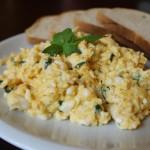 Jajecznica z miętą
