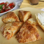 Scones z gorgonzolą
