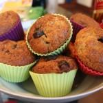 Muffinki z czekoladą i masą truflową