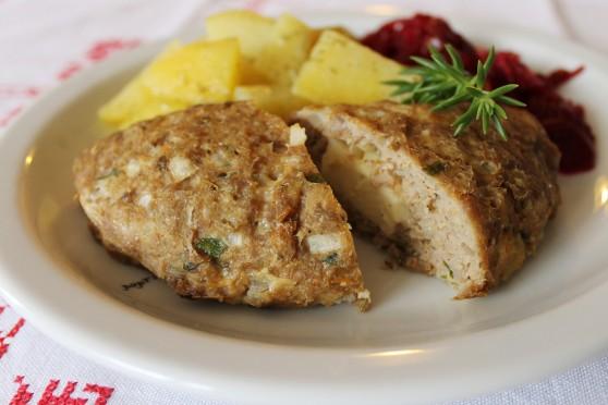 Pieczone kieszonki z serem bałkańskim