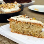 Persian love cake – Perskie ciasto miłości z kardamonem, pistacjami i wodą różaną