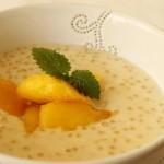 Pudding z tapioki z mango