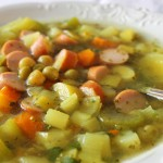 Erbsensuppe, czyli niemiecka zupa groszkowa