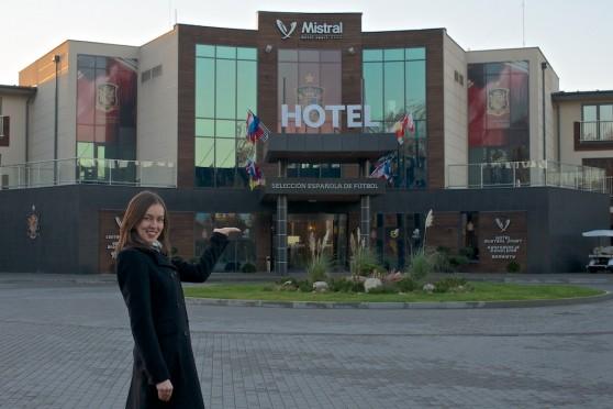 Kasia w Hotelu MISTRAL