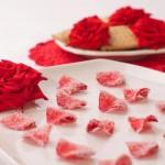 Krystalizowane płatki róż