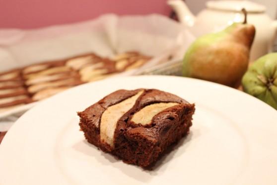 Ciasto czekoladowe z gruszkami_1