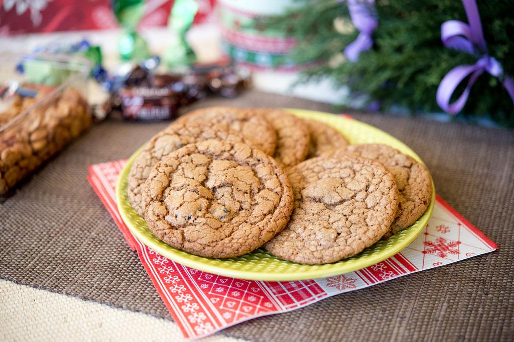 Cookies piernikowe