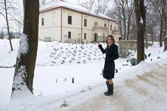II półfinał BlogerChef - Kasia przed Zamkiem Dubiecko