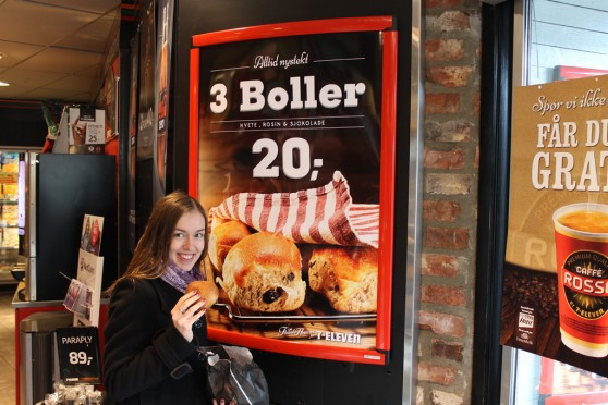 Ja i norweskie Bøller  - bułeczki kardamonowe