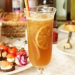 Mrożona herbata: cytryna-mięta-miód