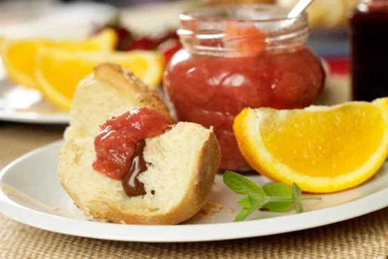 Konfitura-rabarbarowa-z-pomarańczą