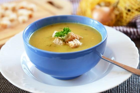 Zupa-krem z cebuli