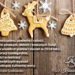 Życzenia świąteczne i moje tegoroczne menu