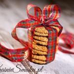 Ciasteczka owsiane z sezamem