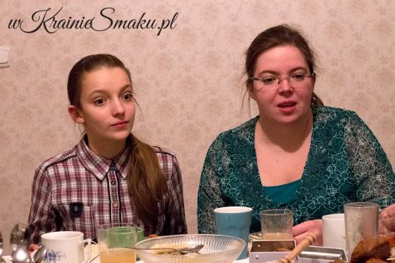 Nasze gospodynie - Marianna i Agnieszka.