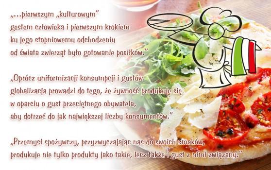 Smaki kuchni włoskiej - cytaty