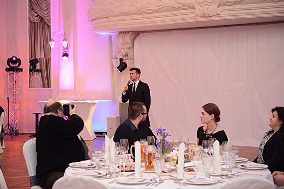 Tomasz Kamel na gali Kryształowe tasaki