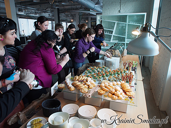 Warsztaty z Olympusem - blogerki na lunchu