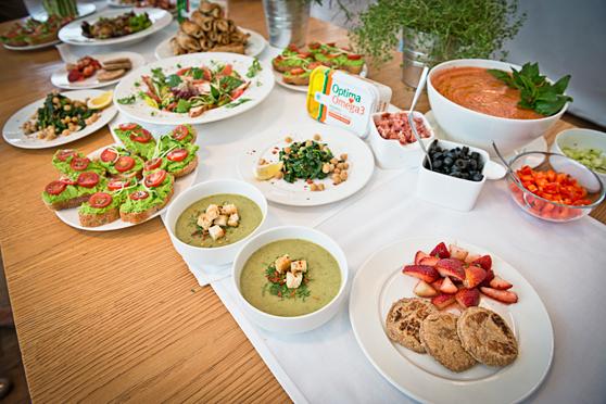 Zupa-krem z kapusty i inne dania z warsztatów