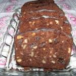Keks czekoladowy ze śliwką i orzechami