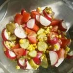 Wiosenna sałatka koperkowa