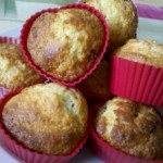 Muffinki kukurydziane z żurawiną