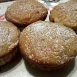 Muffinki z musem jabłkowym