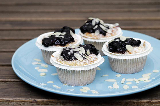 Bezglutenowe muffinki jaglane