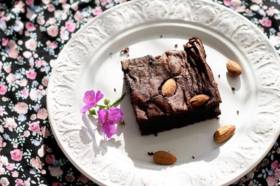 Brownie z kaszą jaglaną 2