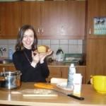 Babkowe ciasto sezamowe