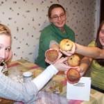 Muffinki bananowo-otrębowe