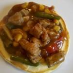 Pankejki kukurydziane (cornmeal pancakes)