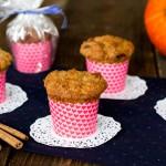 Muffinki z dynią i daktylami