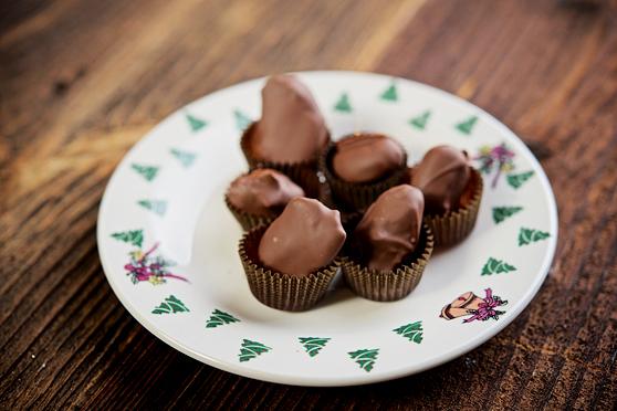 Daktyle z marcepanem w czekoladzie