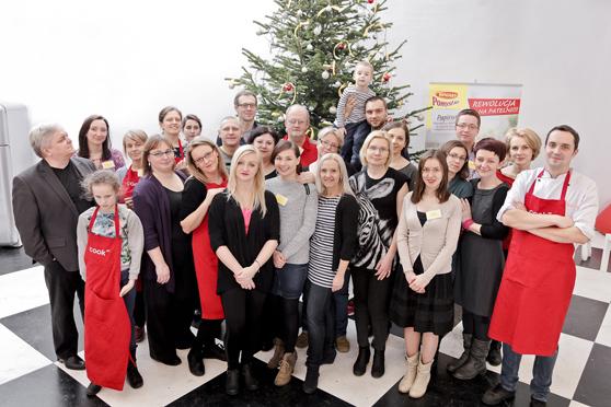 Cała ekipa - Przyjacie Winiary + przedstawiciele Nestle