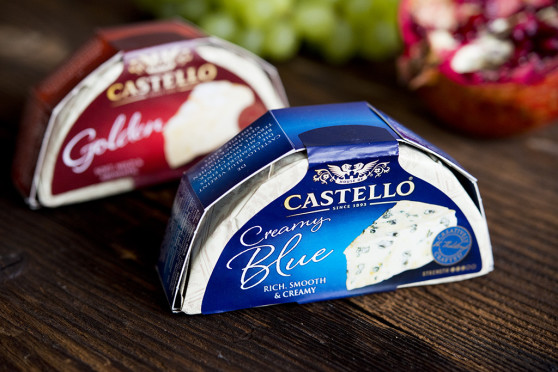 Castello Creamy Blue i Castello Golden