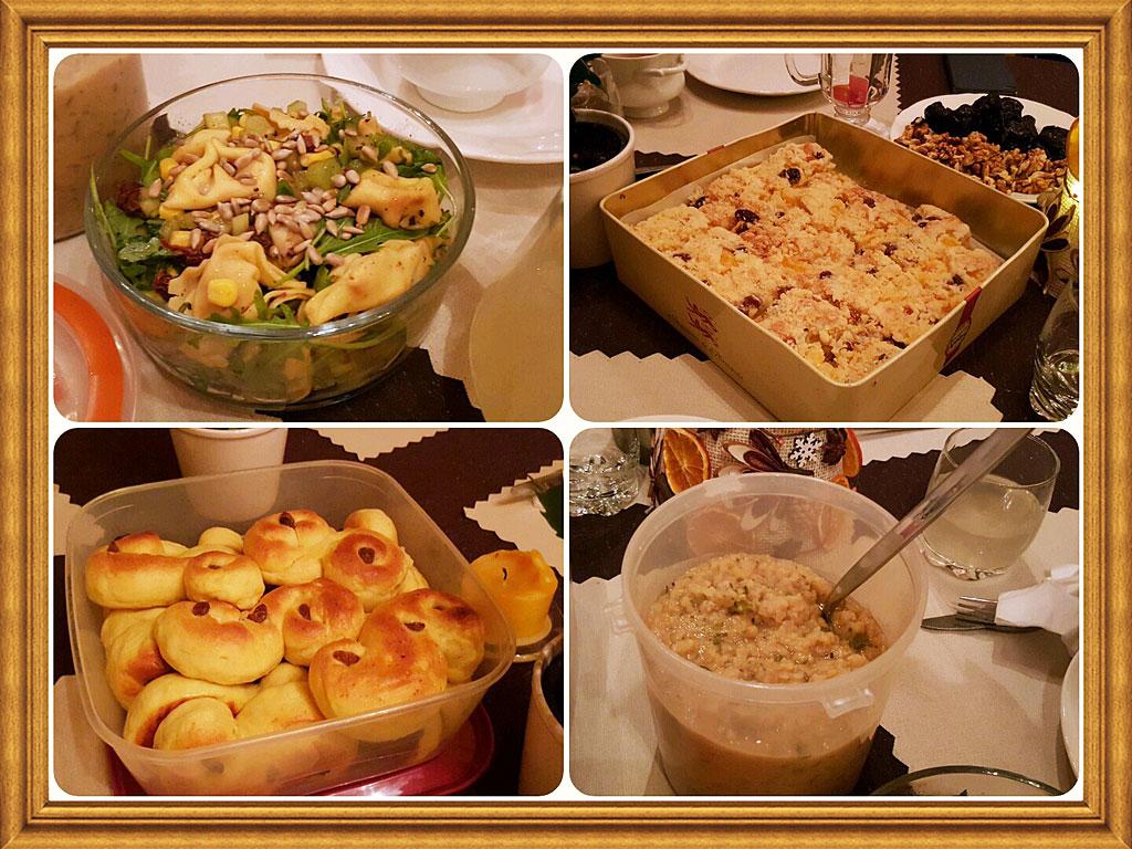 Dania z wigilii wielkopolskich blogerów kulinarnych 2015