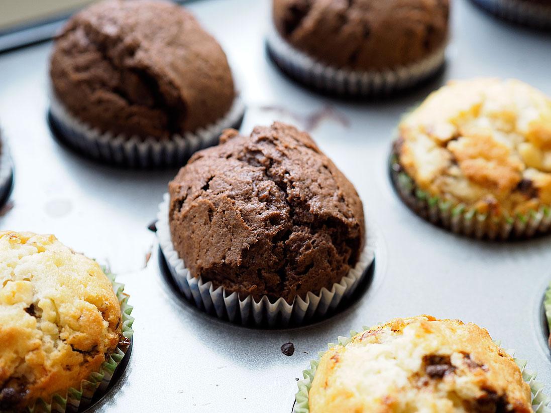Muffiny-z-czekoladą