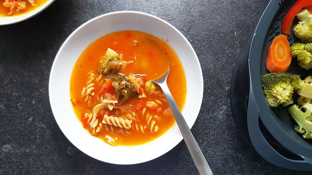 Nasza pierwsza zupa jarzynowa z Thermomix