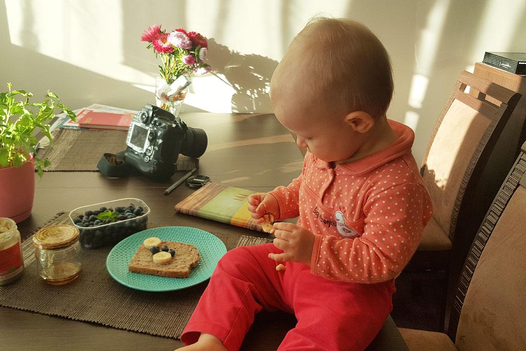 Kanapka dla dziecka - Miś i Ala