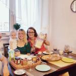 Włosko-polska kolacja na roczek Alicji