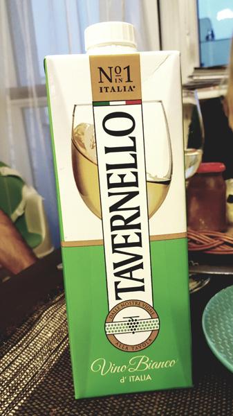Wino w kartonie