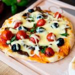 Pizzerinki ze smażonymi borowikami