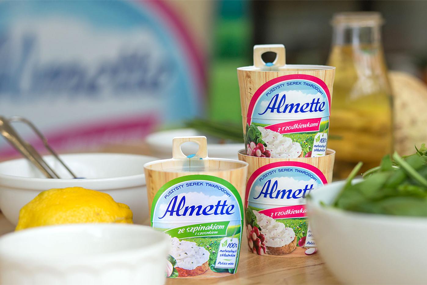 Nowe smaki Almette.
