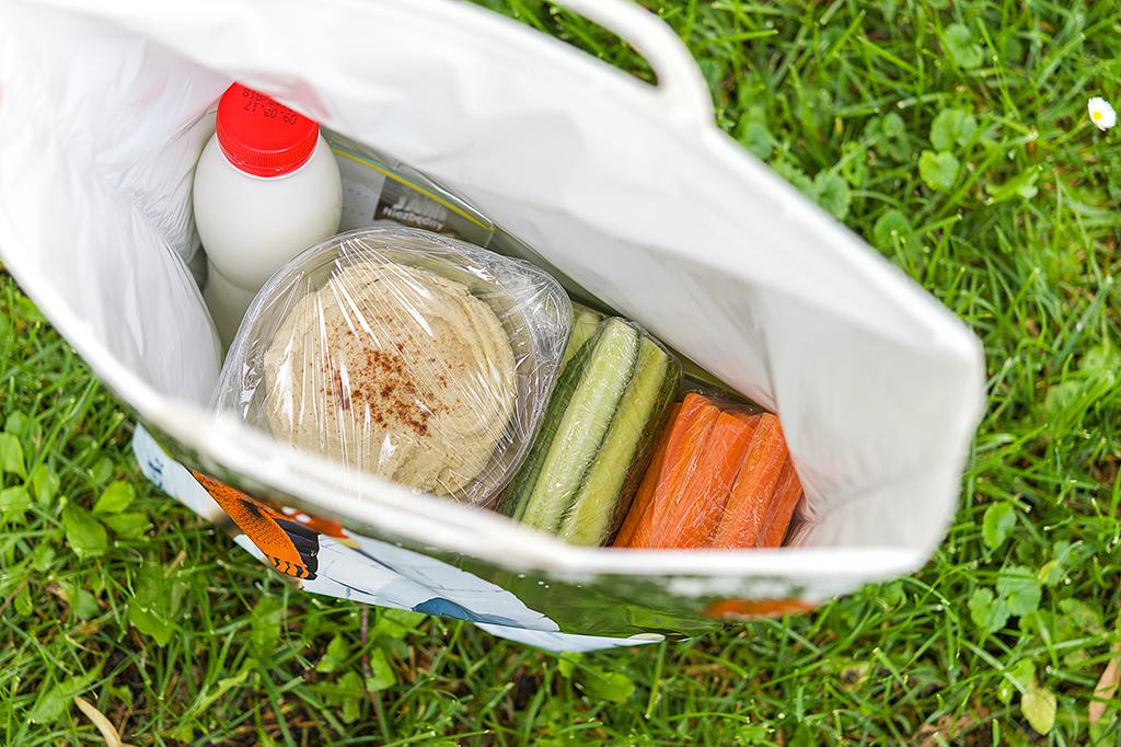 Zestaw piknikowy w torbie termicznej